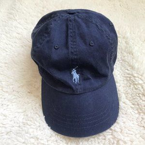 🌻 Polo Ralph Lauren Women's Navy Hat Blue Polo